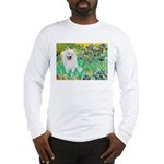 Irises / Eskimo Spitz #1 Long Sleeve T-Shirt