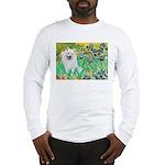 Irises / Eskimo Spitz #1 Long Sleeve T-Shirt