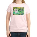 Irises / Eskimo Spitz #1 Women's Light T-Shirt