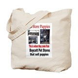 Unique Pet store Tote Bag