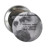 Group Insanity: Nietzsche Button