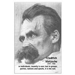 Group Insanity: Nietzsche Large Poster