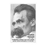 Group Insanity: Nietzsche Mini Poster Print