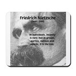 Group Insanity: Nietzsche Mousepad