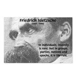 Group Insanity: Nietzsche Postcards (Package of 8)