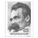 Group Insanity: Nietzsche Small Poster