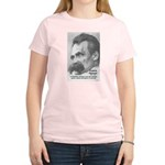 Group Insanity: Nietzsche Women's Pink T-Shirt