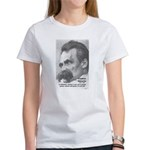 Group Insanity: Nietzsche Women's T-Shirt