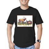 Audubon Elk Animal (Front) T