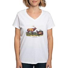 Audubon Elk Animal Shirt