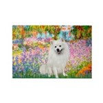 Garden / Eskimo Spitz #1 Rectangle Magnet