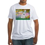 Garden / Eskimo Spitz #1 Fitted T-Shirt