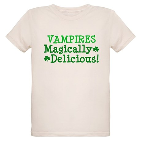 Vampires Magically Delicious Organic Kids T-Shirt