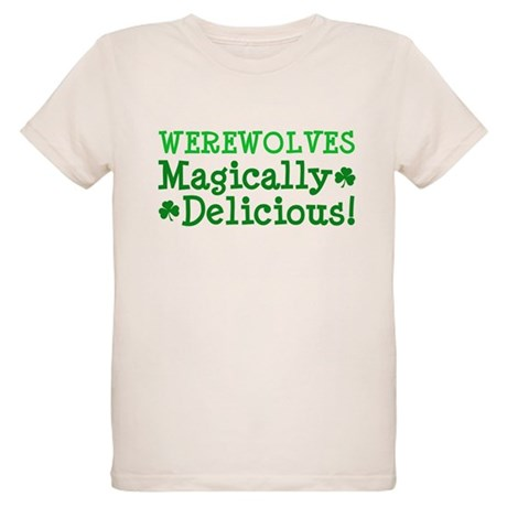 Werewolves Delicious Organic Kids T-Shirt