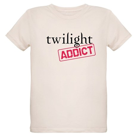 Twilight Addict Organic Kids T-Shirt