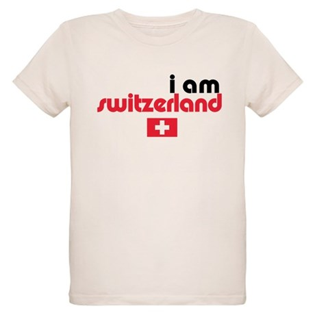 I Am Switzerland Organic Kids T-Shirt