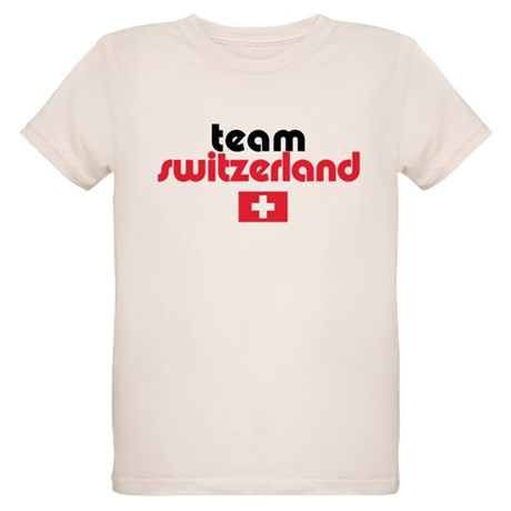 Team Switzerland Organic Kids T-Shirt