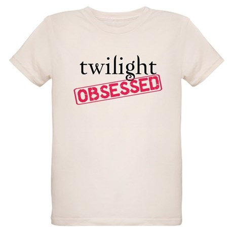 Twilight Obsessed Organic Kids T-Shirt