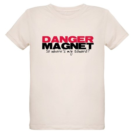 Danger Magnet Edward Organic Kids T-Shirt