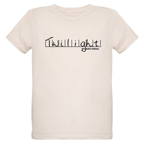 Twilight My Anti-Drug Organic Kids T-Shirt