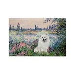 Seine / Eskimo Spitz #1 Rectangle Magnet (10 pack)