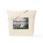 Seine / Eskimo Spitz #1 Tote Bag