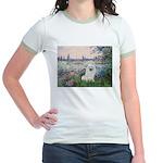 Seine / Eskimo Spitz #1 Jr. Ringer T-Shirt