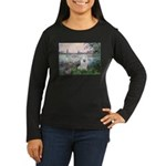 Seine / Eskimo Spitz #1 Women's Long Sleeve Dark T