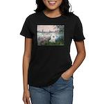Seine / Eskimo Spitz #1 Women's Dark T-Shirt