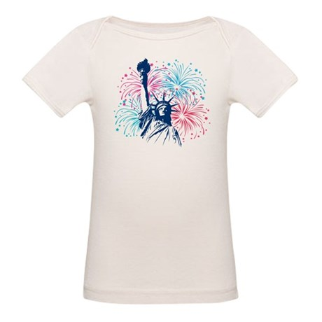 4th Of July Organic Baby T-Shirt