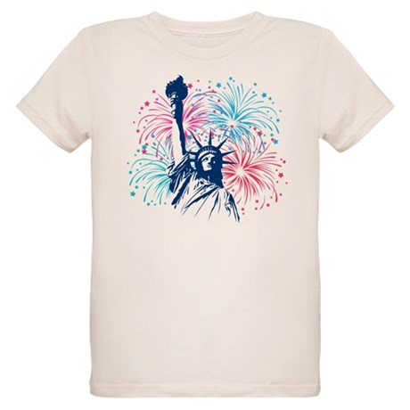 4th Of July Organic Kids T-Shirt