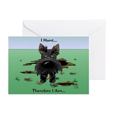 Scottish Terrier - I Hunt Greeting Cards (Pk of 10