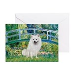 Bridge / Eskimo Spitz #1 Greeting Card