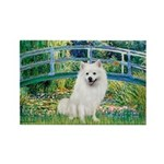 Bridge / Eskimo Spitz #1 Rectangle Magnet (10 pack