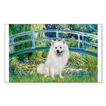 Bridge / Eskimo Spitz #1 Sticker (Rectangle)