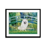 Bridge / Eskimo Spitz #1 Framed Panel Print