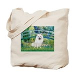 Bridge / Eskimo Spitz #1 Tote Bag