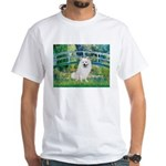 Bridge / Eskimo Spitz #1 White T-Shirt