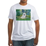 Bridge / Eskimo Spitz #1 Fitted T-Shirt