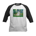 Bridge / Eskimo Spitz #1 Kids Baseball Jersey