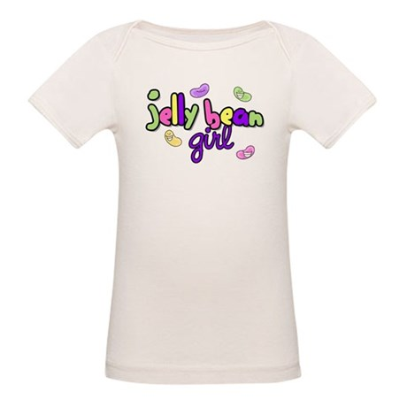 Jelly Bean Girl Organic Baby T-Shirt
