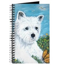 Westie & Butterfly Journal