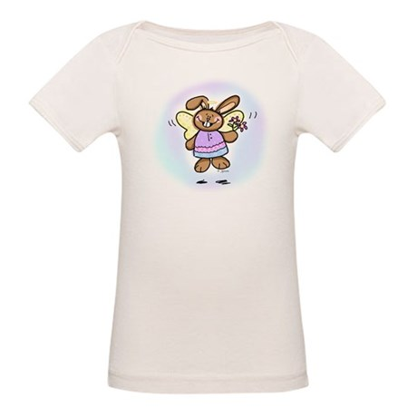 Easter Angel Organic Baby T-Shirt
