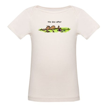 The Day After Easter Organic Baby T-Shirt