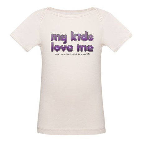 My Kids Love Me Organic Baby T-Shirt