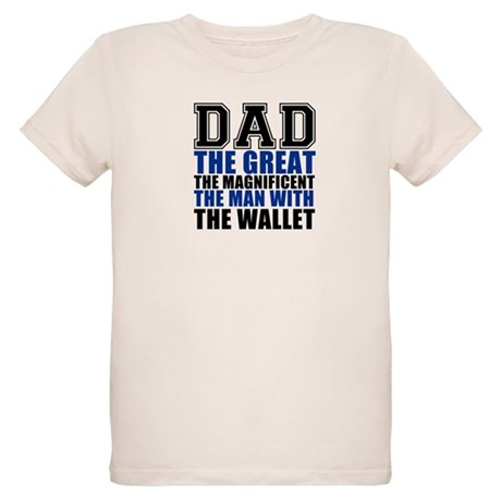 Dad - the Great Organic Kids T-Shirt