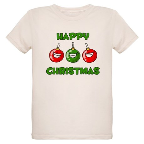 Happy Merry Christmas Organic Kids T-Shirt