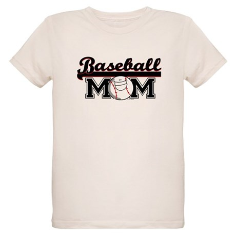 Baseball mom Organic Kids T-Shirt