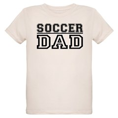 Soccer Dad Organic Kids T-Shirt