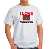 I Love Maldives T-Shirt